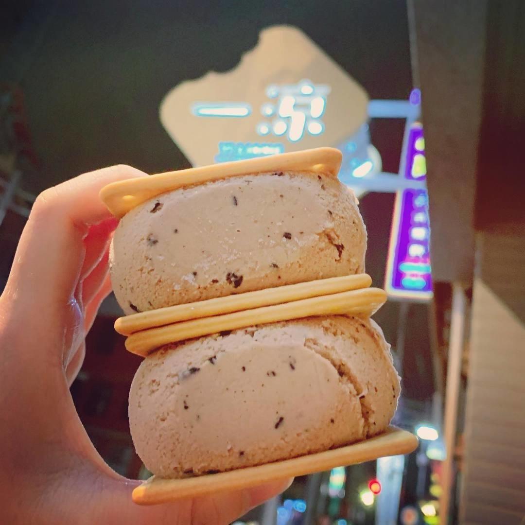 一涼製冰所-三明治冰餅|小福砌商業空間設計