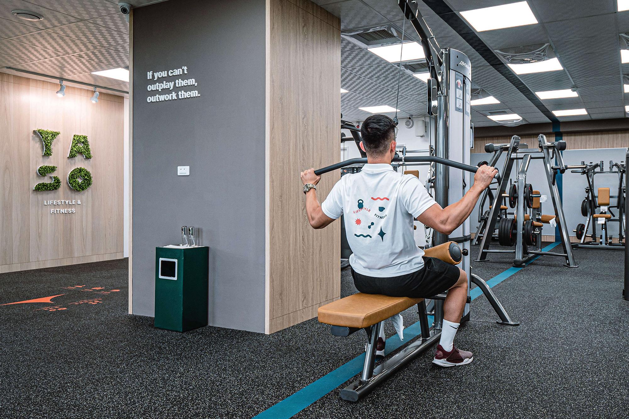 嘉義健身房室內空間設計-健身環境|塔索肌力與體能訓練中心