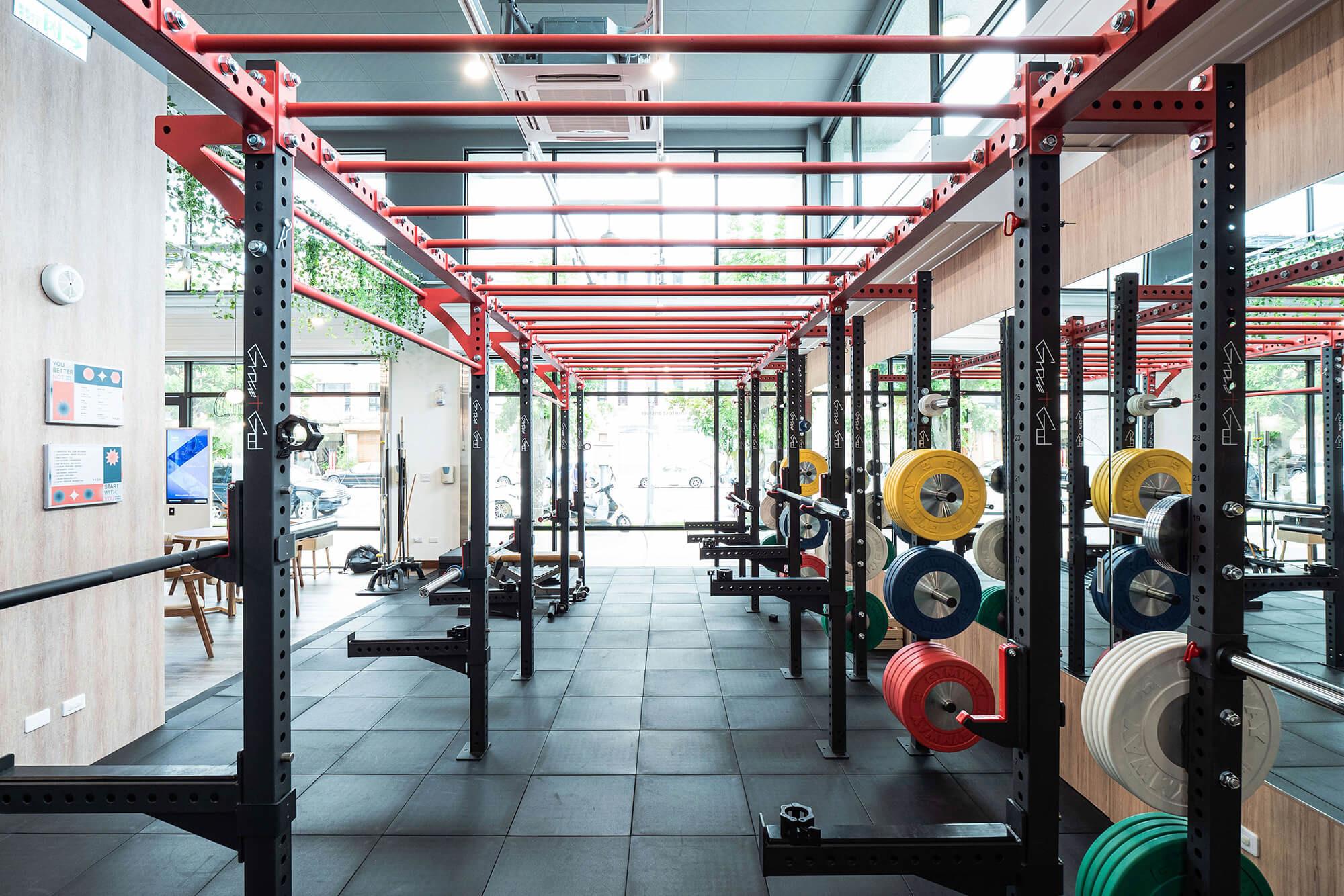 嘉義健身房室內空間設計-功能訓練區|塔索肌力與體能訓練中心