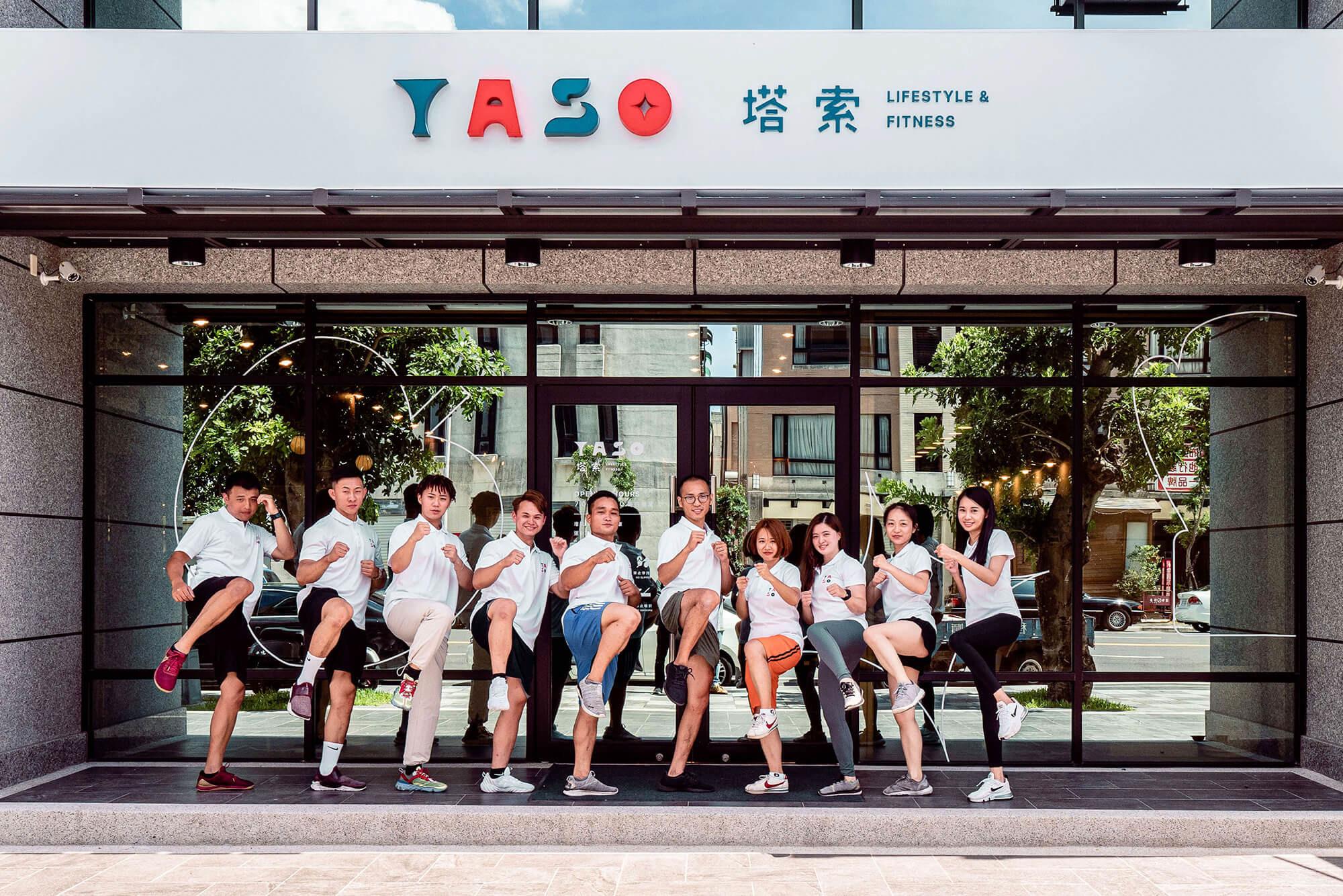 嘉義健身房室內空間設計-專業團隊合照|塔索肌力與體能訓練中心