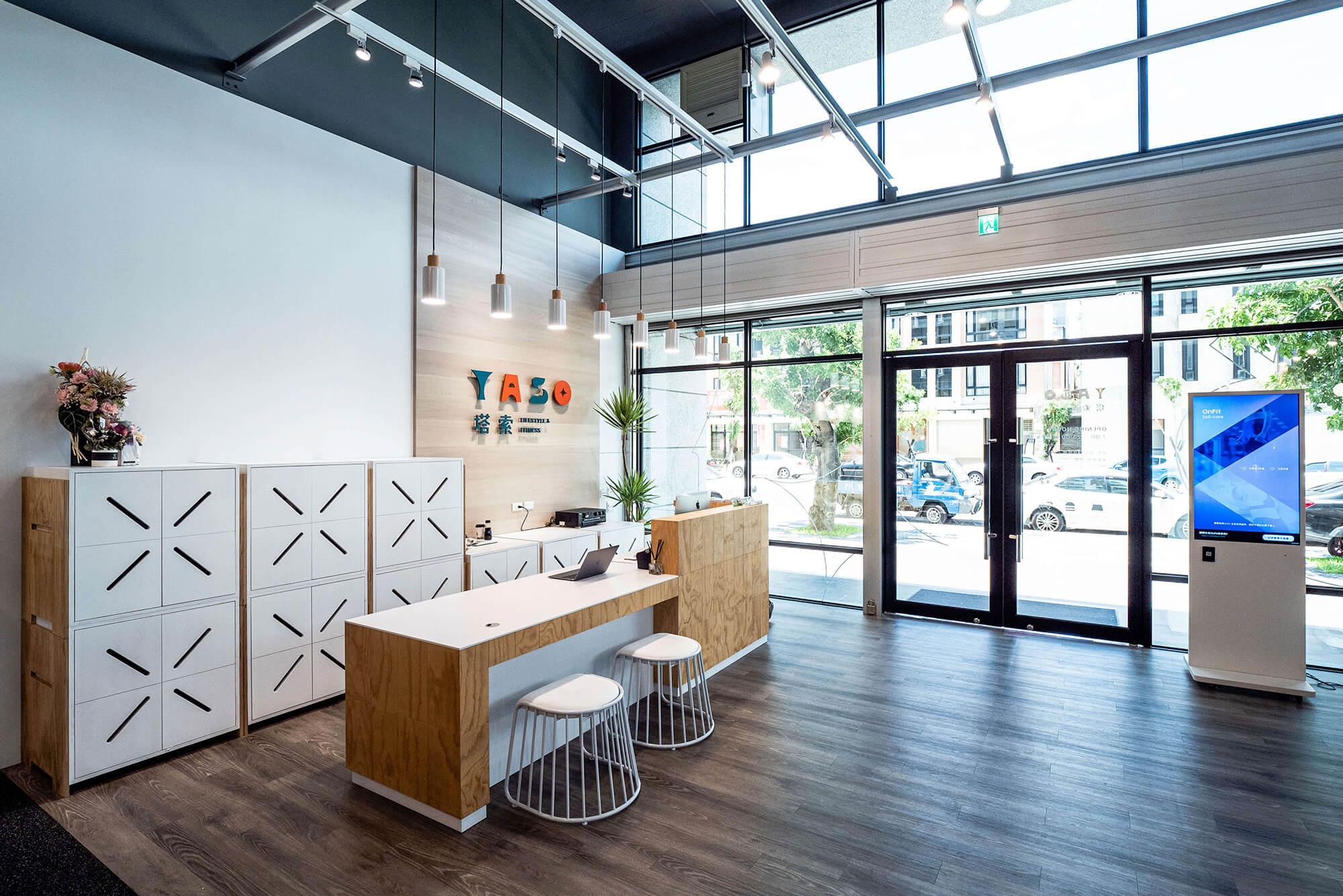 嘉義健身房室內空間設計-整體規劃|塔索肌力與體能訓練中心