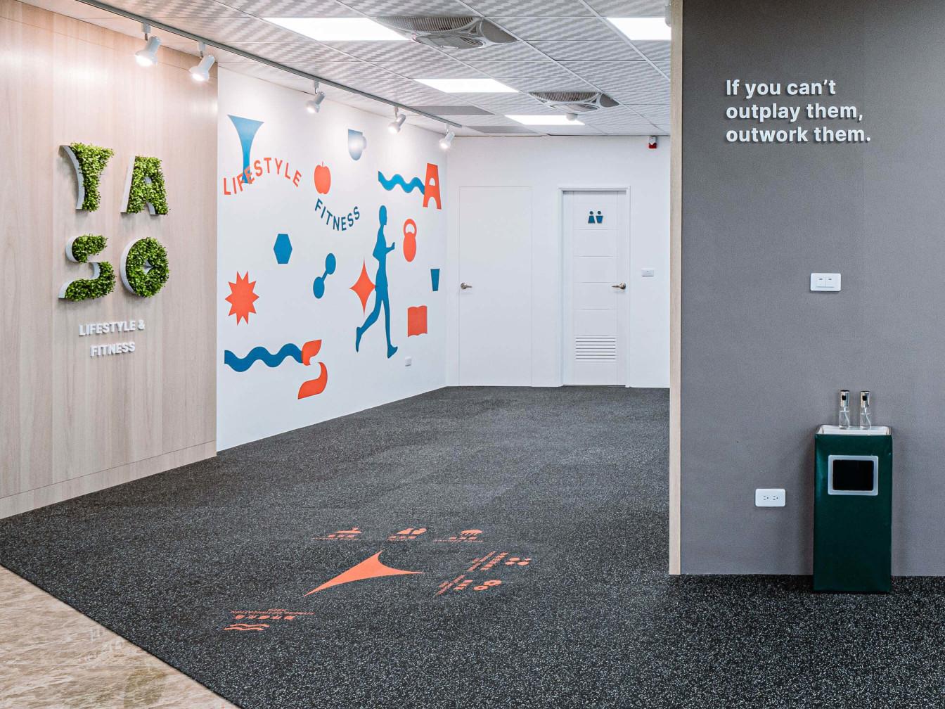 嘉義健身房室內空間設計-金句設計|塔索肌力與體能訓練中心