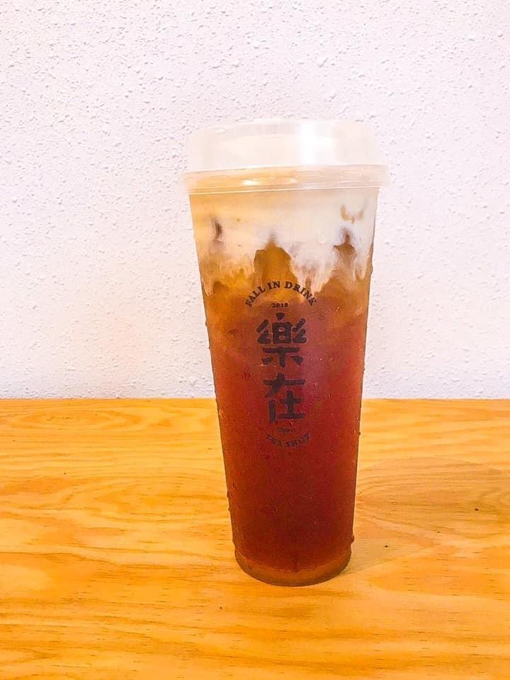 嘉義市西區樂在飲事所-奶霜紅茶