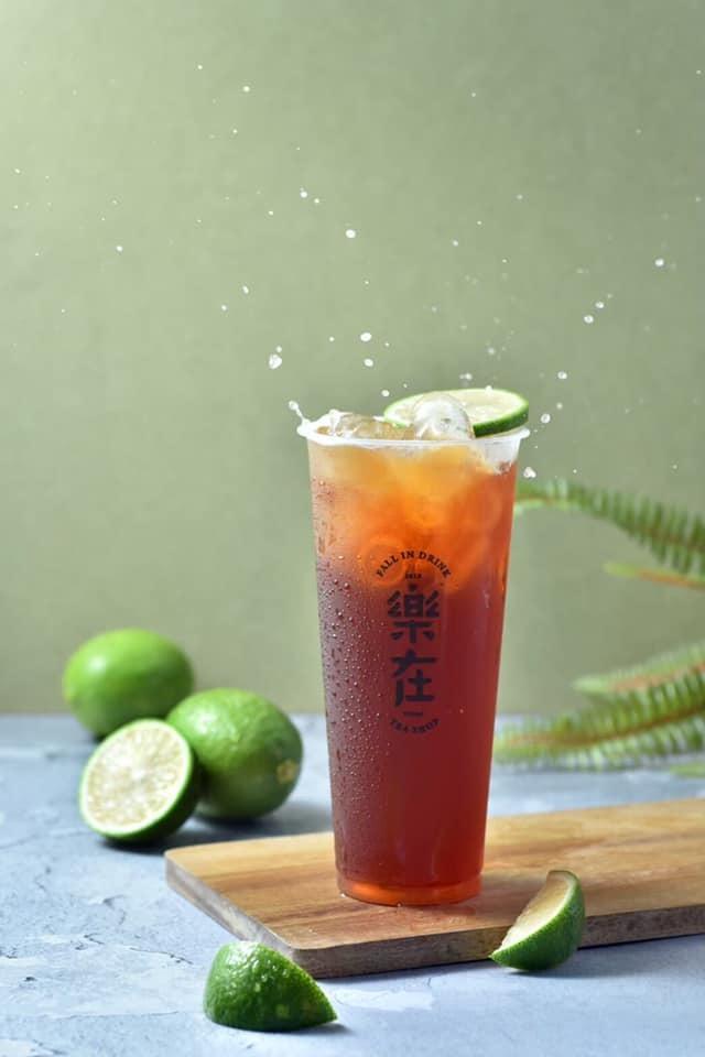 嘉義市西區樂在飲事所-檸檬紅茶
