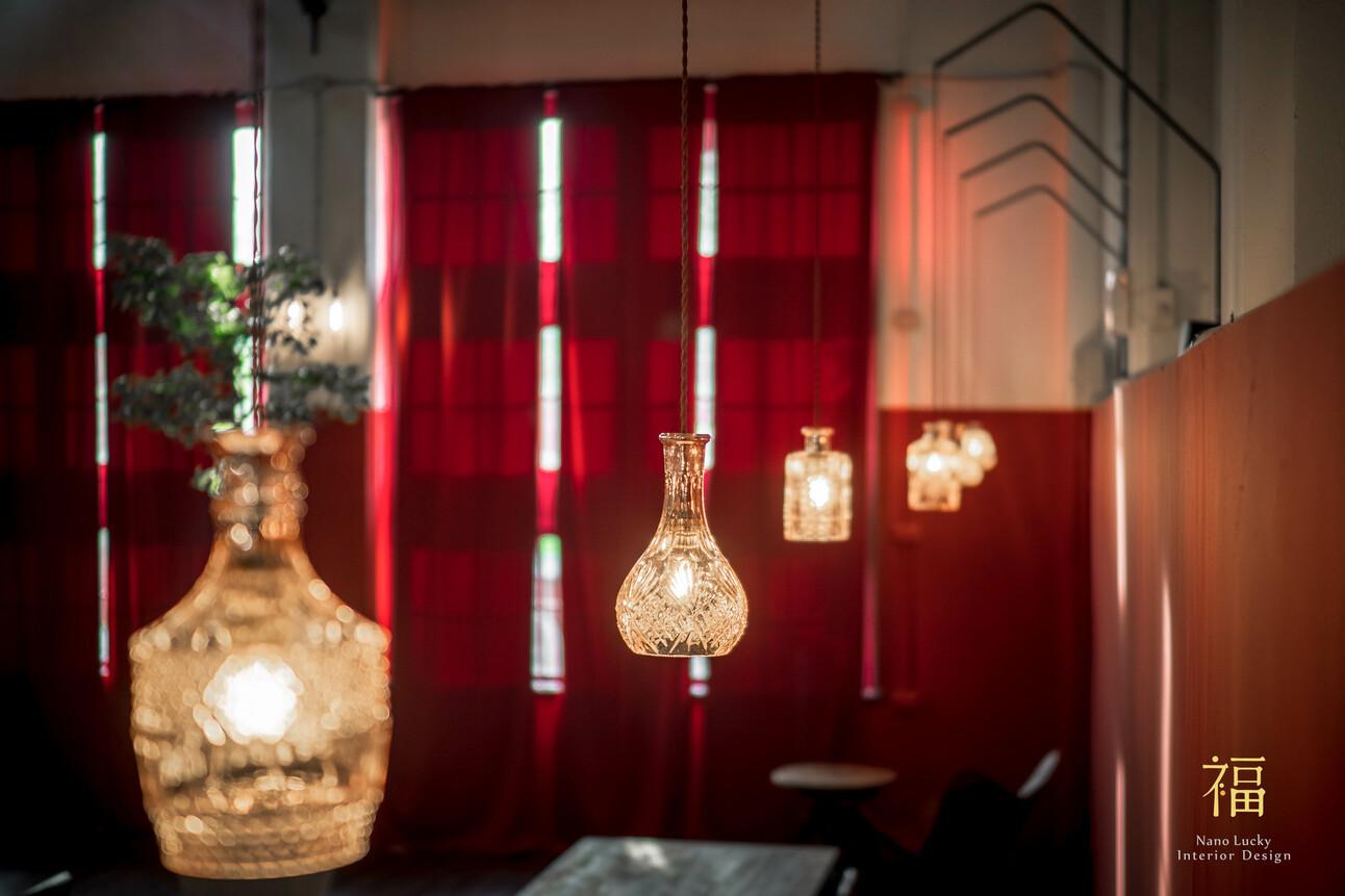 國王蝴蝶秘密基地roicafe咖啡廳-燈飾設計|小福砌商業咖啡廳空間設計