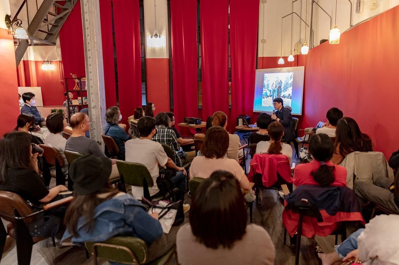 國王蝴蝶秘密基地roicafe咖啡廳-藝文分享活動|小福砌商業咖啡廳空間設計