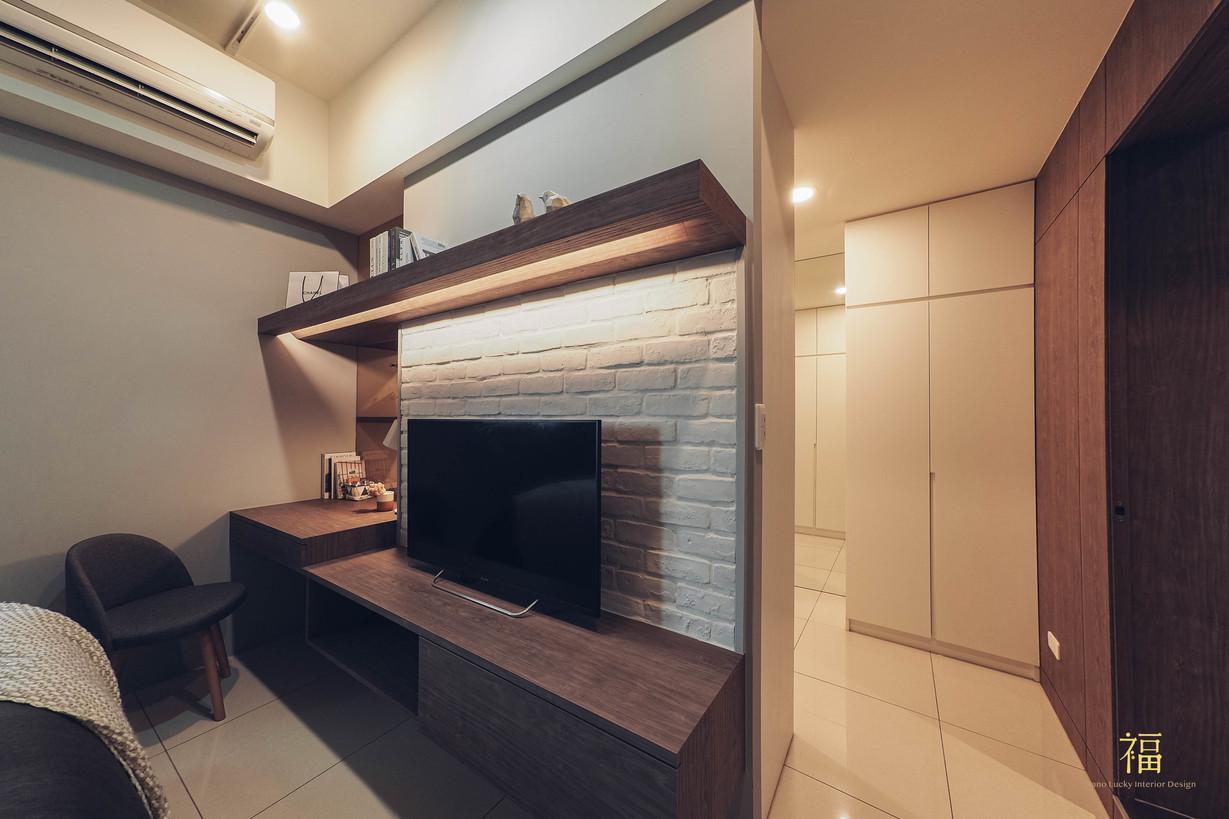 水上敦美|主臥室空間動線規劃|嘉義住宅空間設計