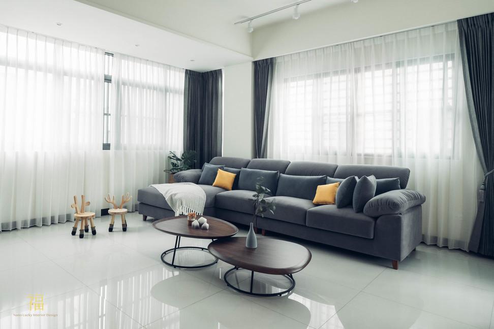 水上敦美 簡約風格客廳 嘉義住宅空間設計
