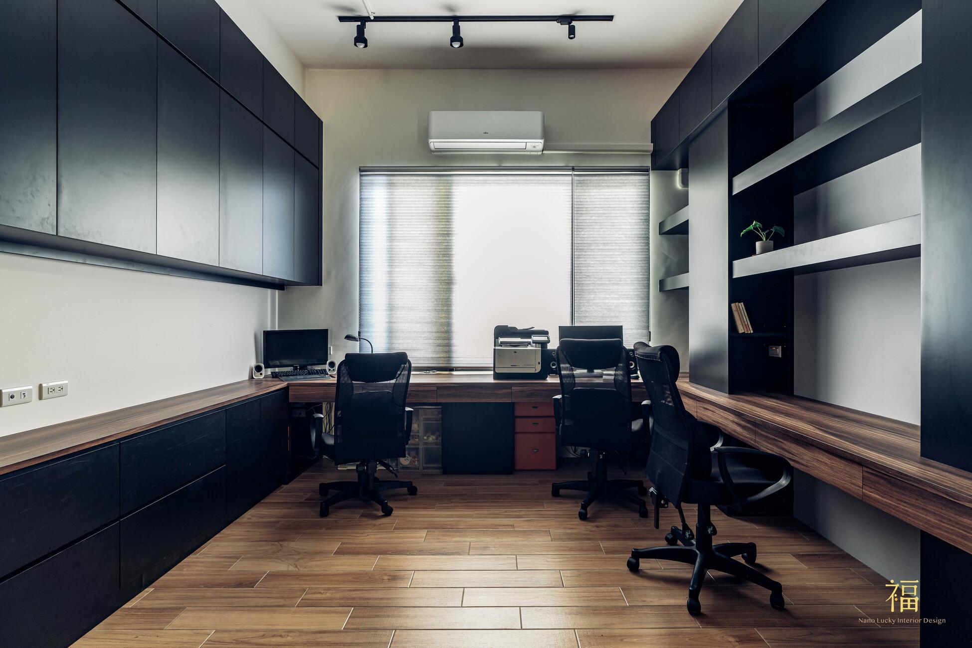 溪口盧宅|北歐風書房工作房|嘉義住宅空間設計