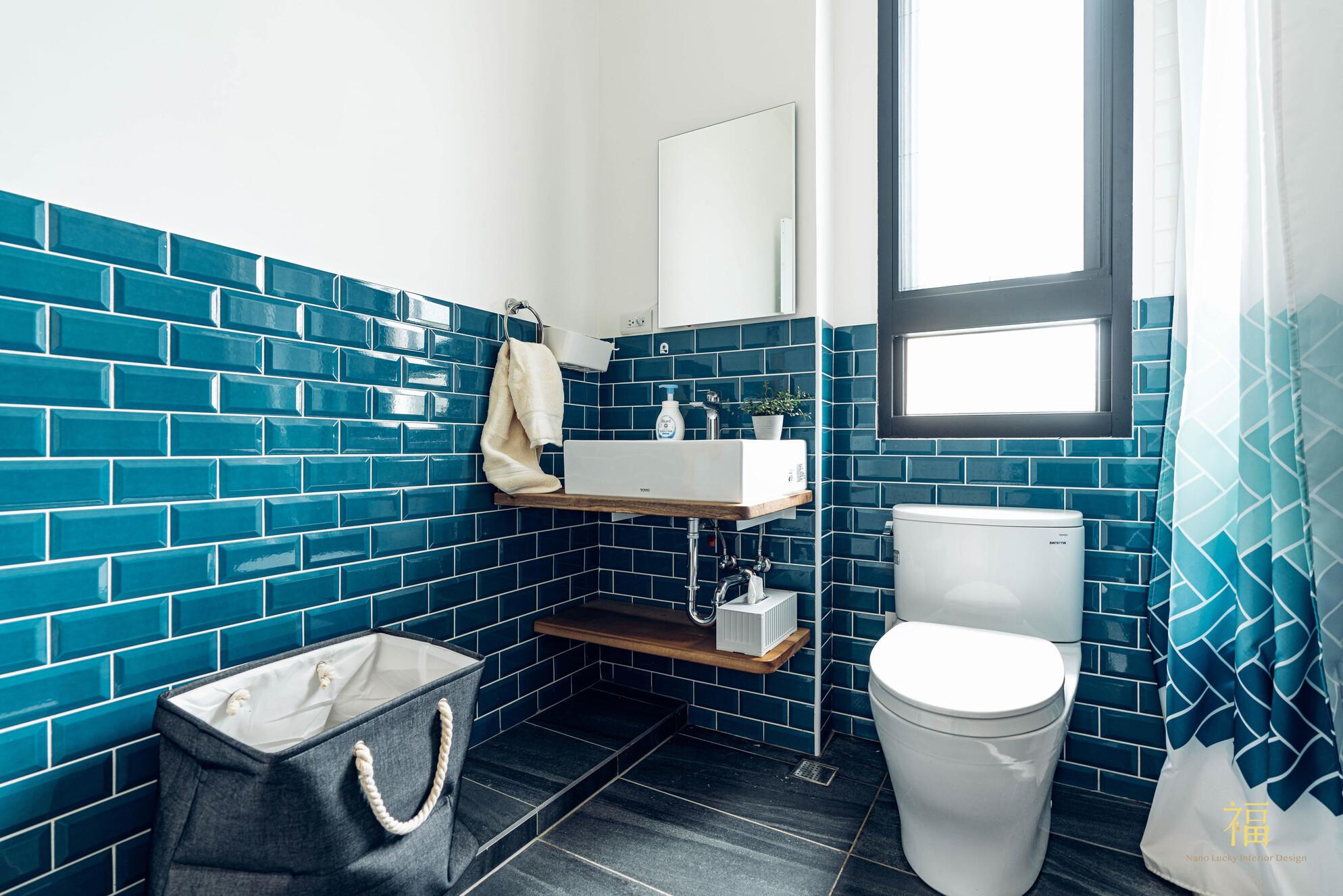 溪口盧宅|北歐風浴廁設計|嘉義住宅空間設計