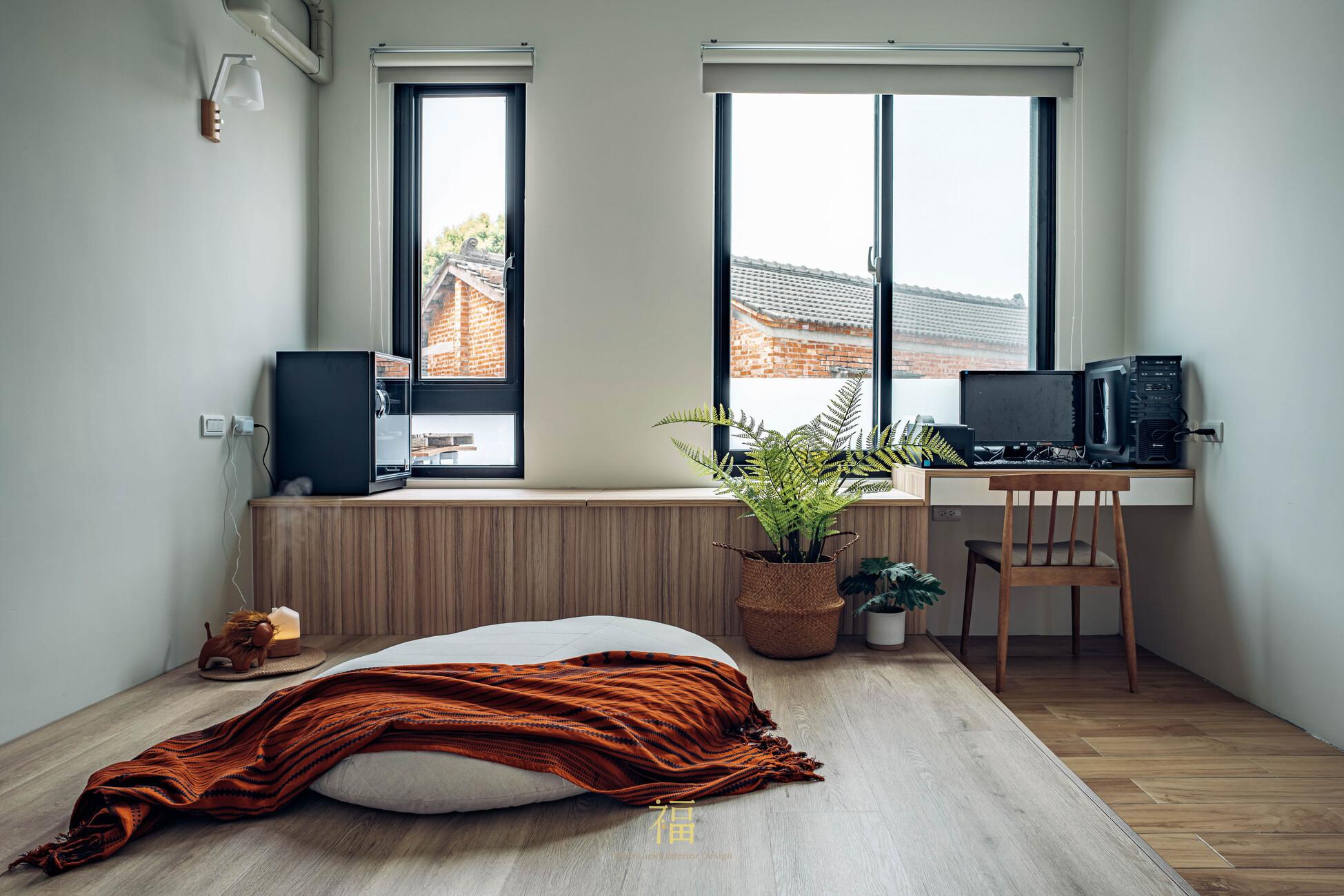 溪口盧宅|客房書房擺飾|嘉義住宅空間設計