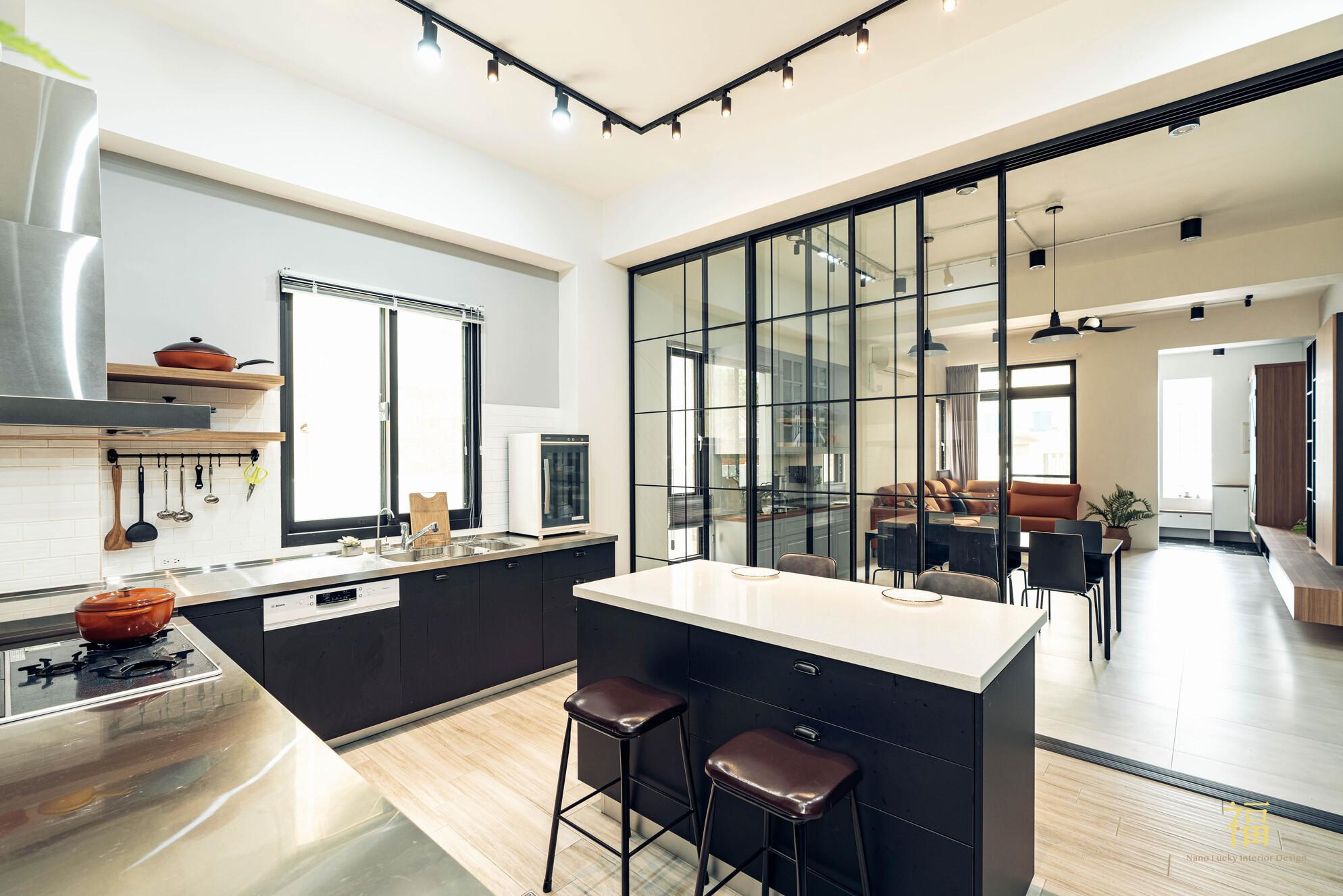 溪口盧宅|整體空間延伸感|嘉義住宅空間設計