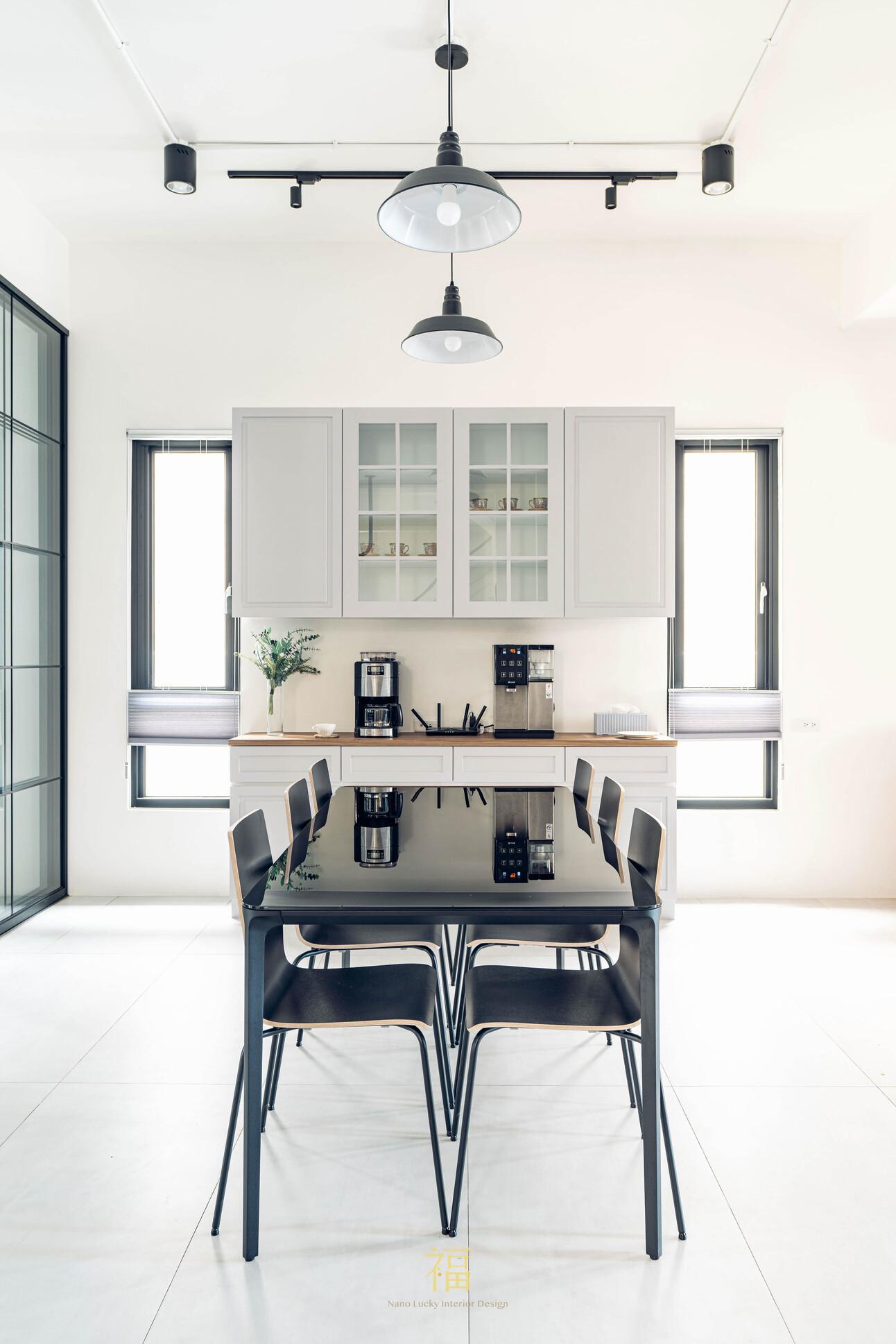 溪口盧宅|現代風質感餐桌椅|嘉義住宅空間設計