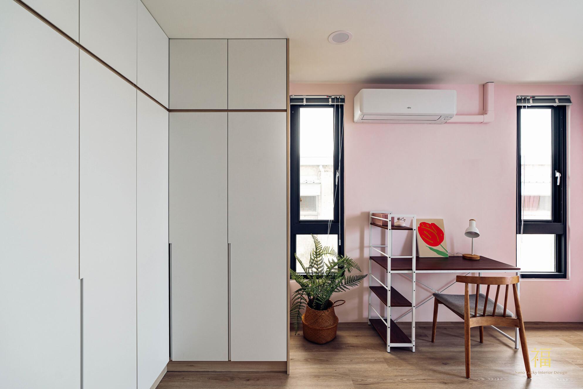 溪口盧宅|簡約風臥房|嘉義住宅空間設計