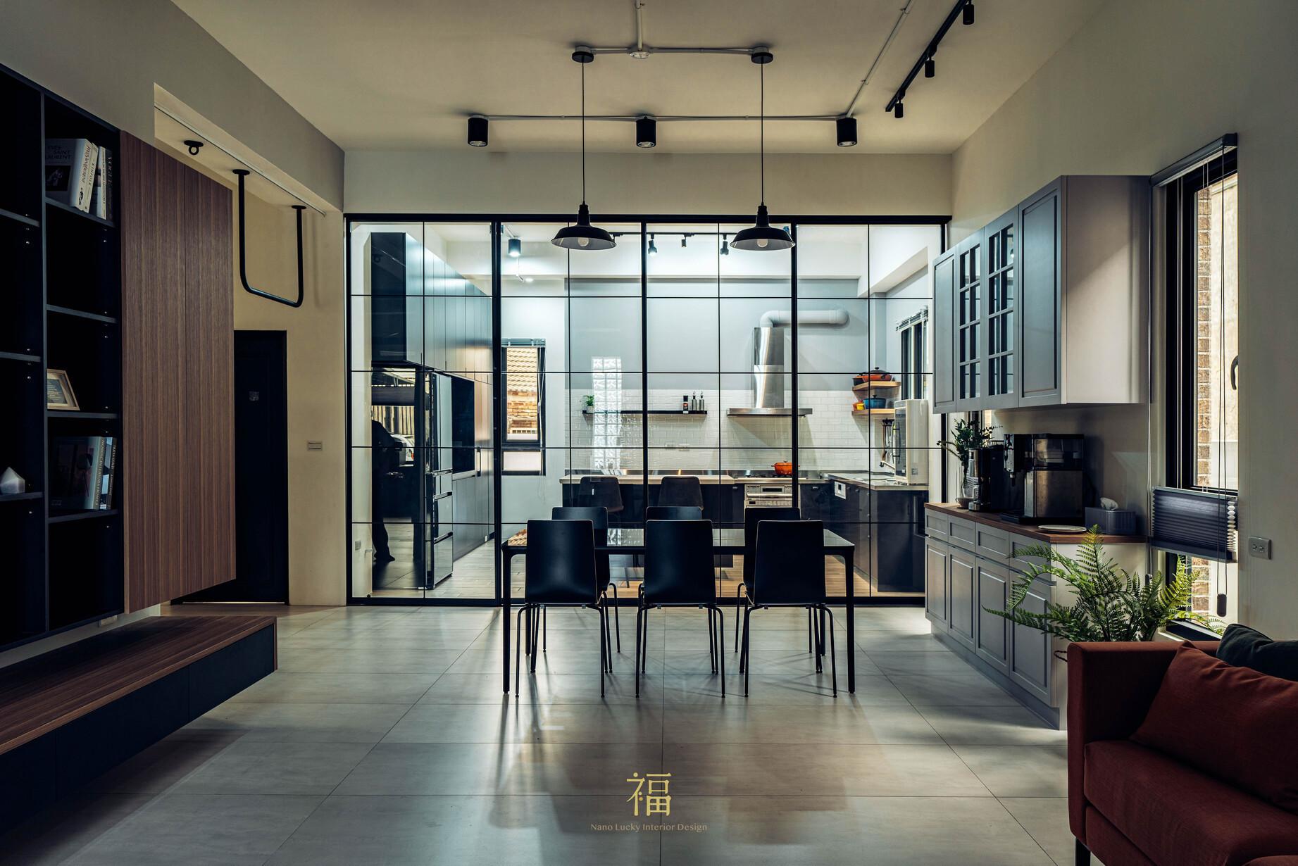 溪口盧宅|絕美質感廚房餐廳|嘉義住宅空間設計