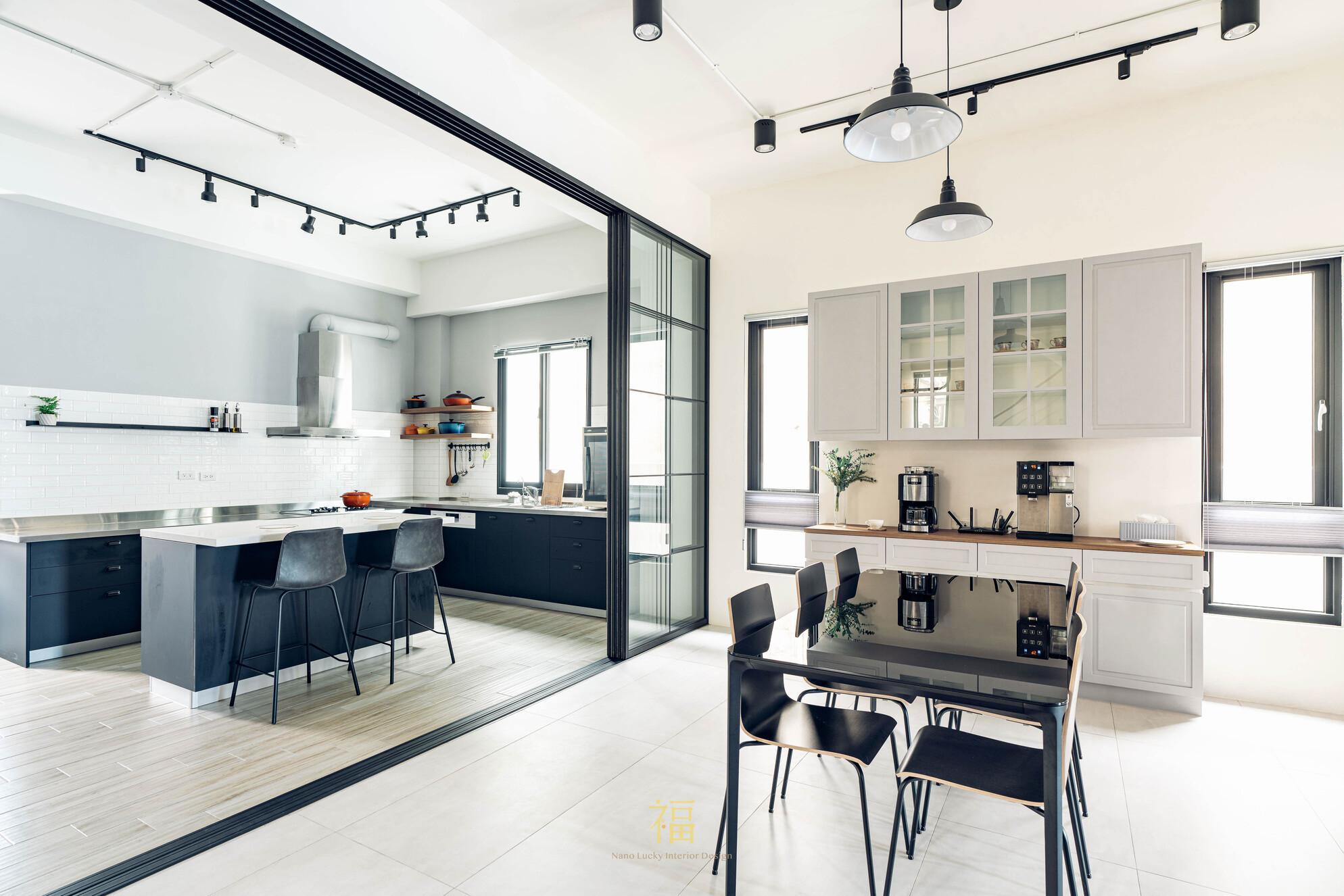 溪口盧宅|餐廳廚房動線規劃|嘉義住宅空間設計