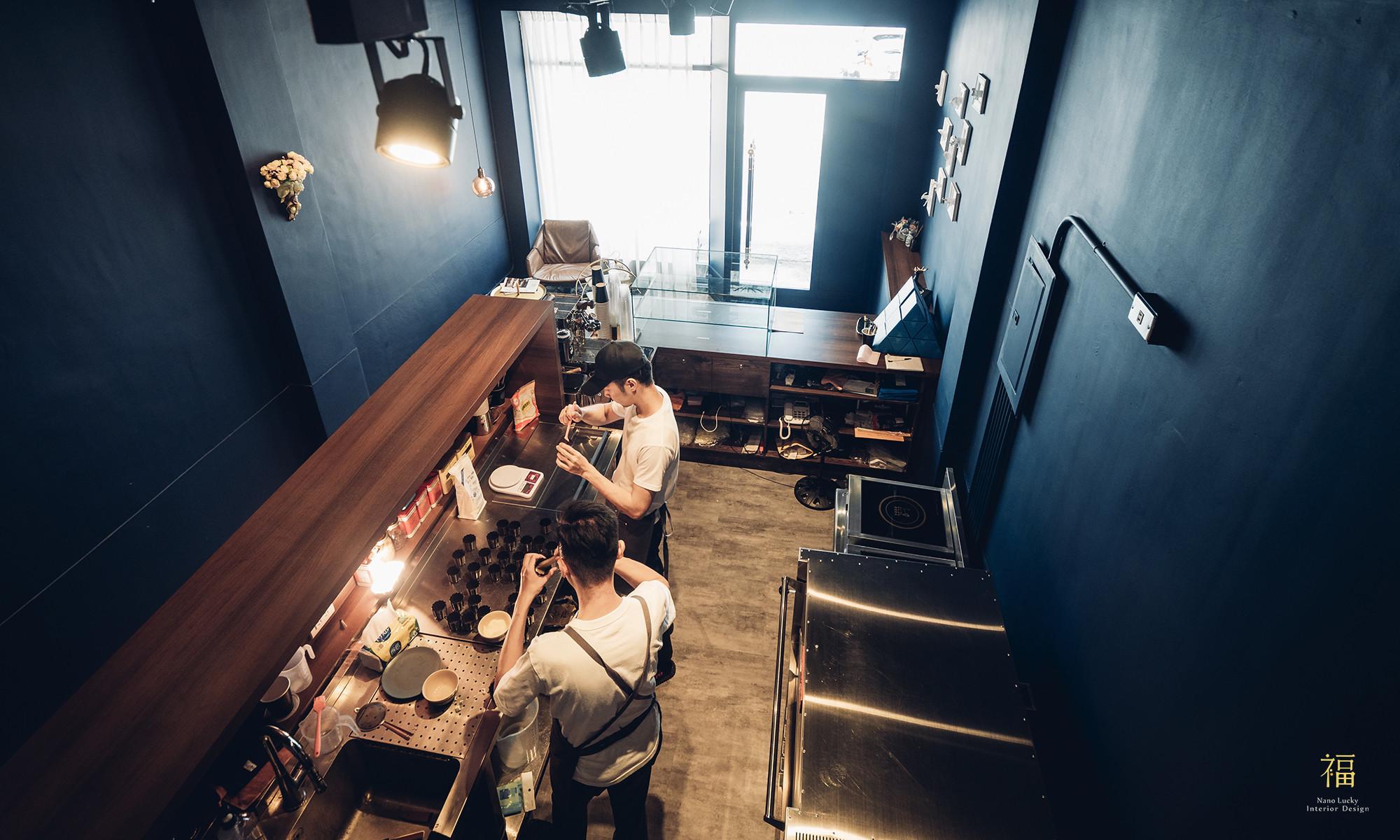 玖零甜食所嘉義可麗露專賣店-吧檯區設計|小福砌商業甜點空間設計