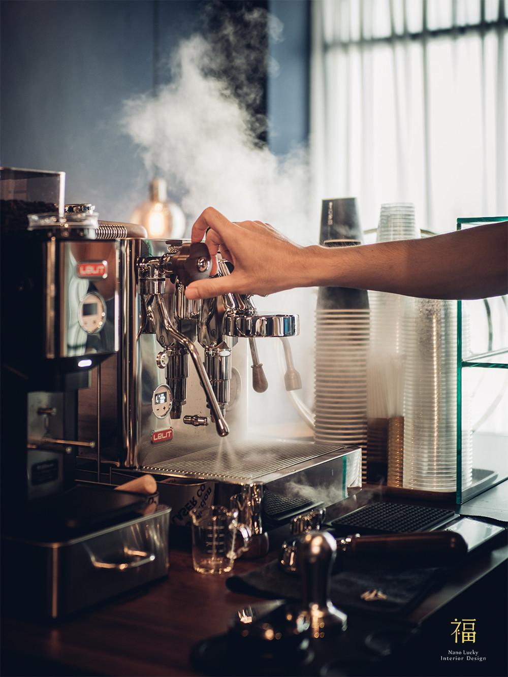 玖零甜食所嘉義可麗露專賣店-咖啡吧檯設計|小福砌商業甜點空間設計