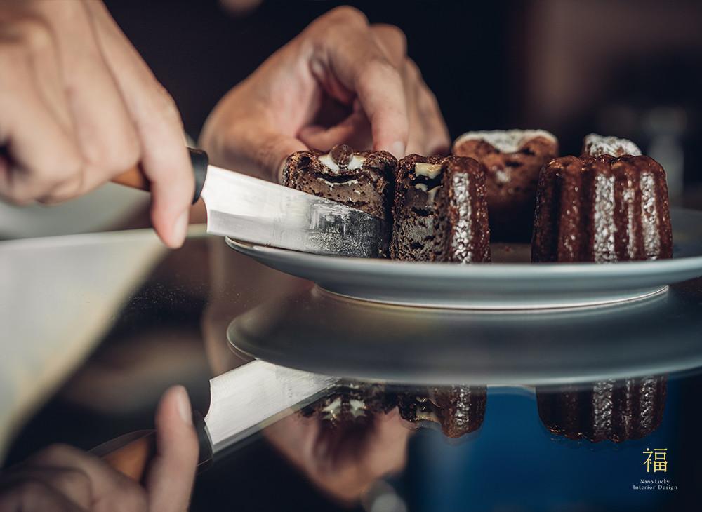 玖零甜食所嘉義可麗露專賣店-品嚐照片|小福砌商業甜點空間設計