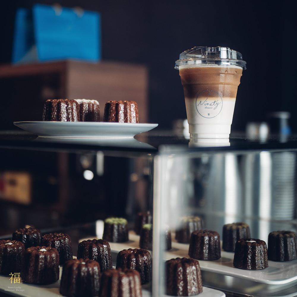玖零甜食所嘉義可麗露專賣店-成品展示|小福砌商業甜點空間設計