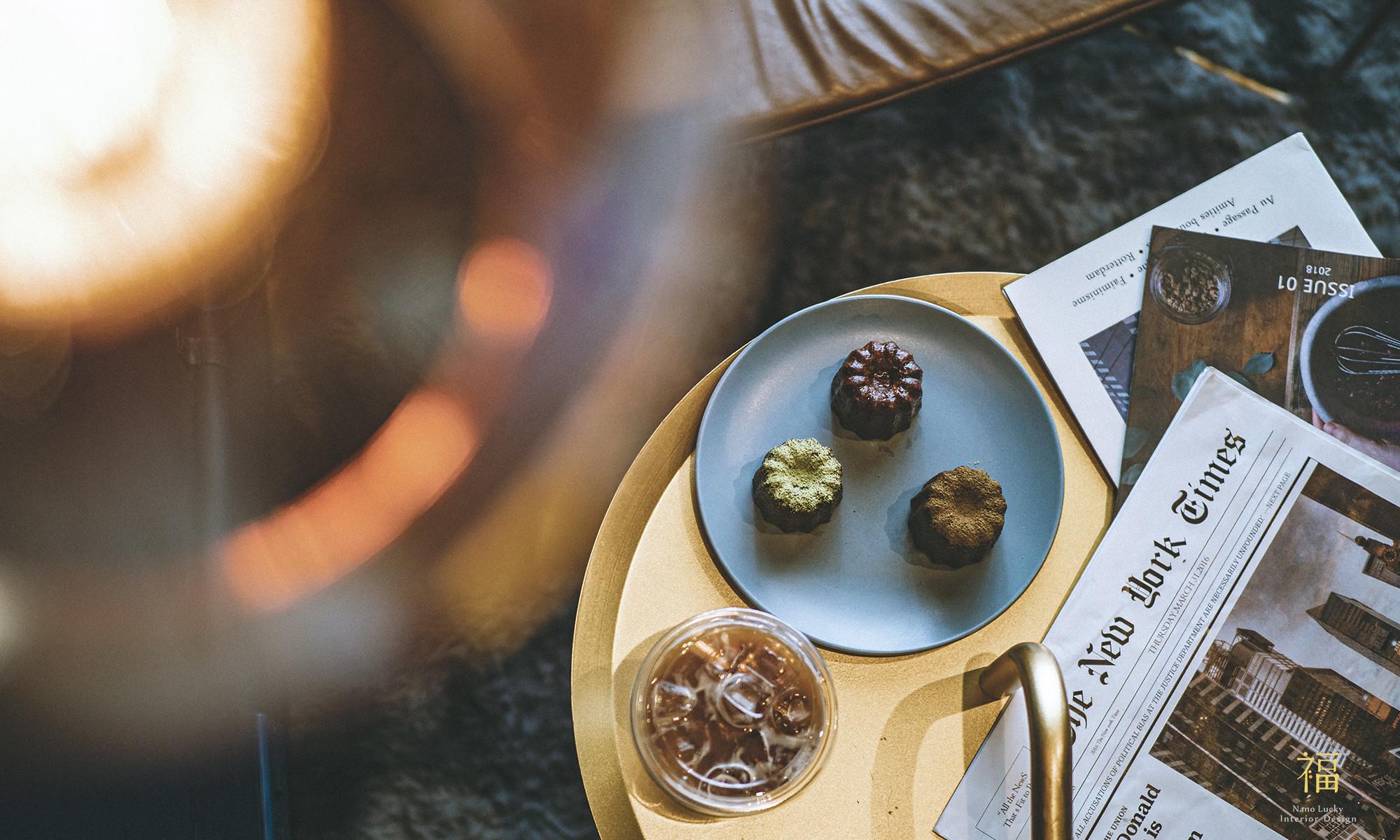 玖零甜食所-嘉義法式可麗露專賣店|小福砌商業甜點空間設計