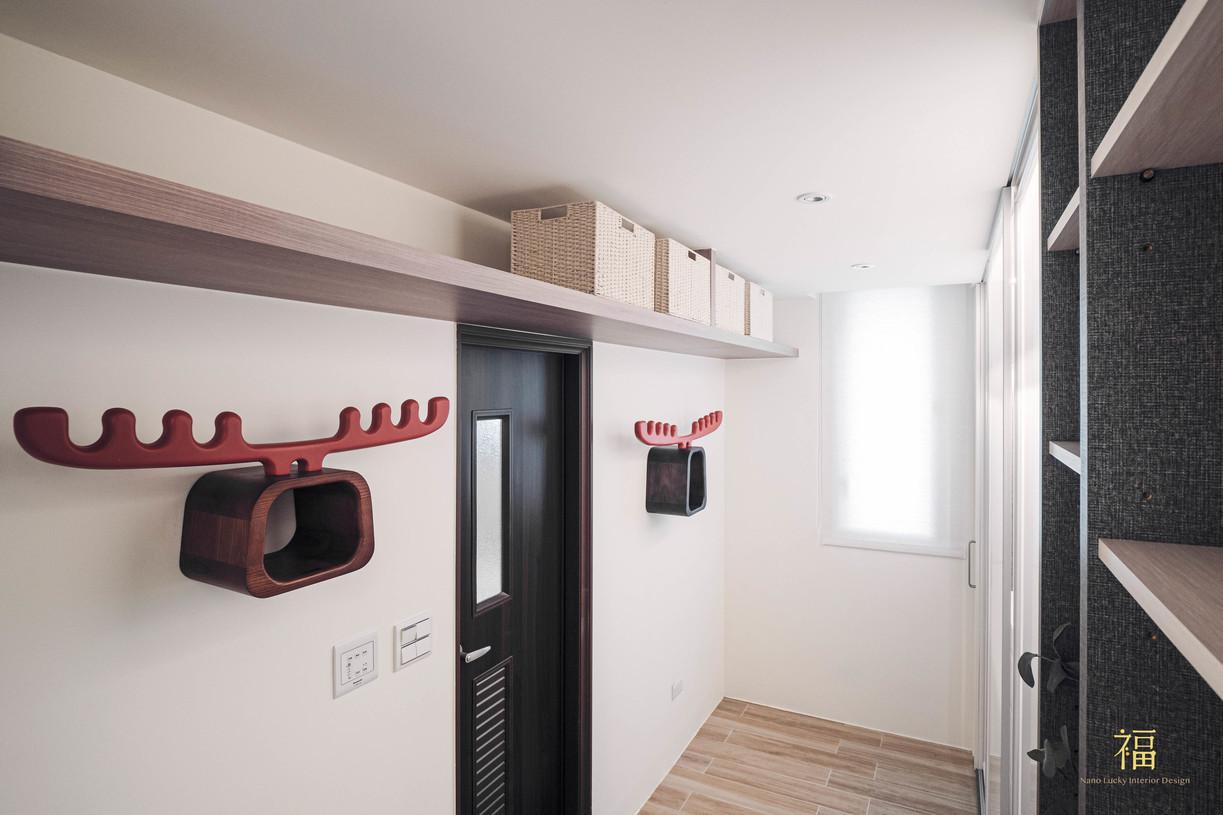 福人居 主臥室衣帽間 嘉義住宅空間設計