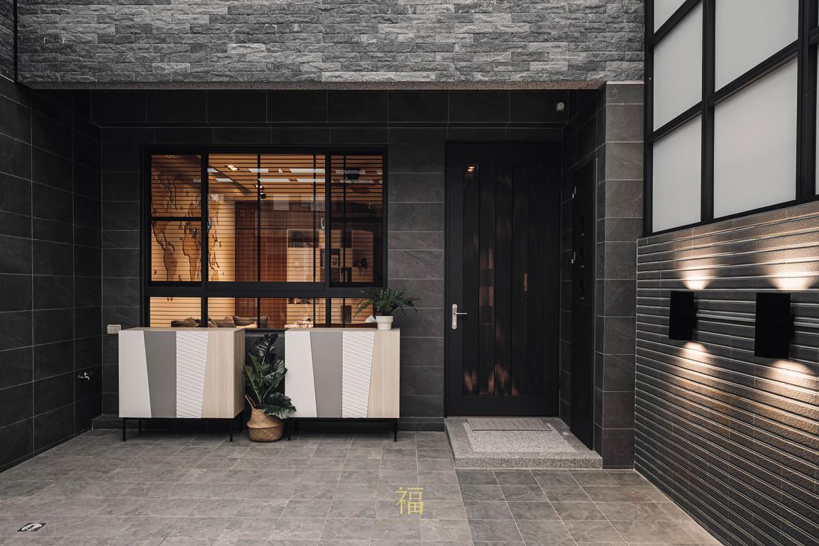 福人居 北歐風住宅門面空間 嘉義住宅空間設計
