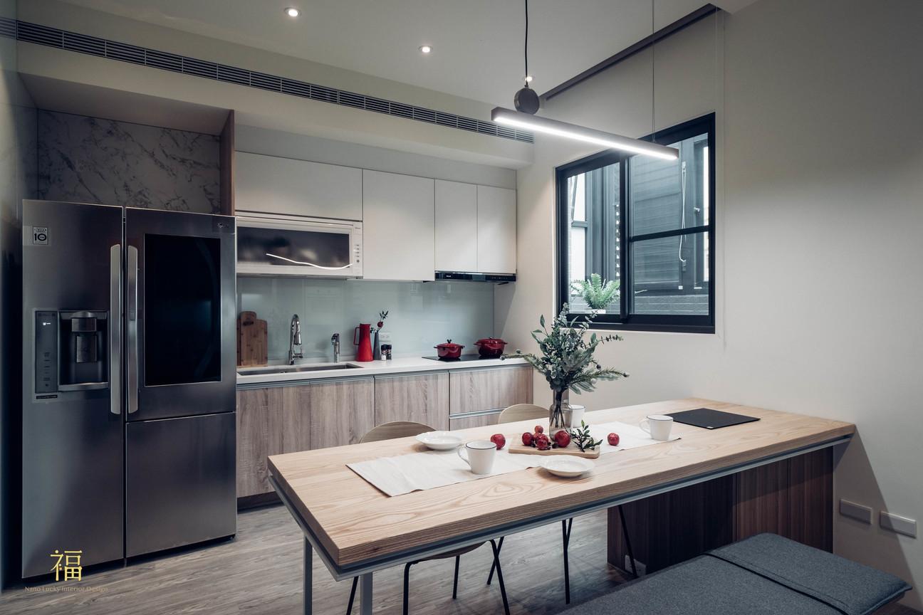 福人居 北歐風個餐廳 嘉義住宅空間設計
