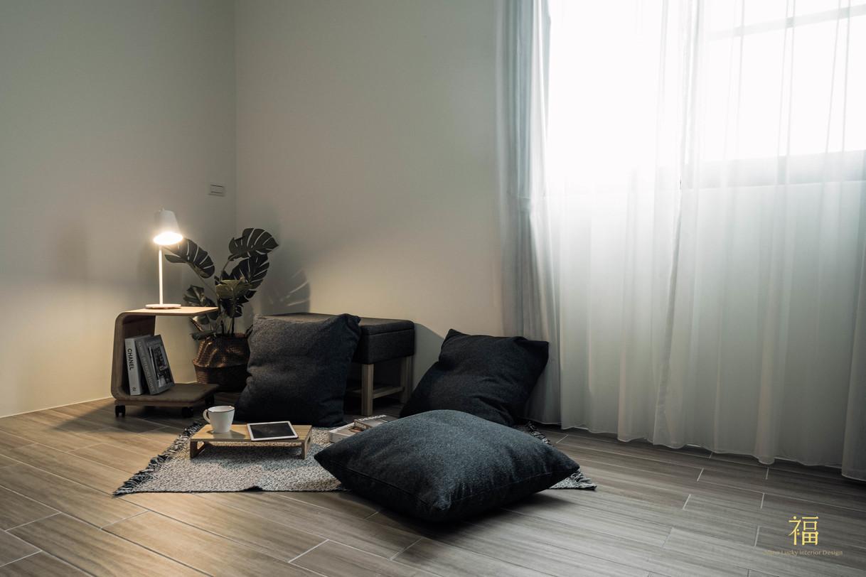 福人居 客房簡約風格擺飾 嘉義住宅空間設計