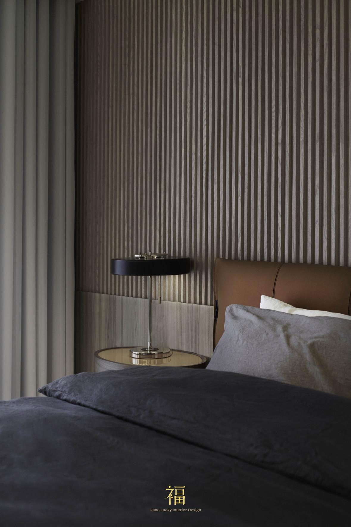 福宅雅居|主臥床頭櫃|嘉義住宅空間設計