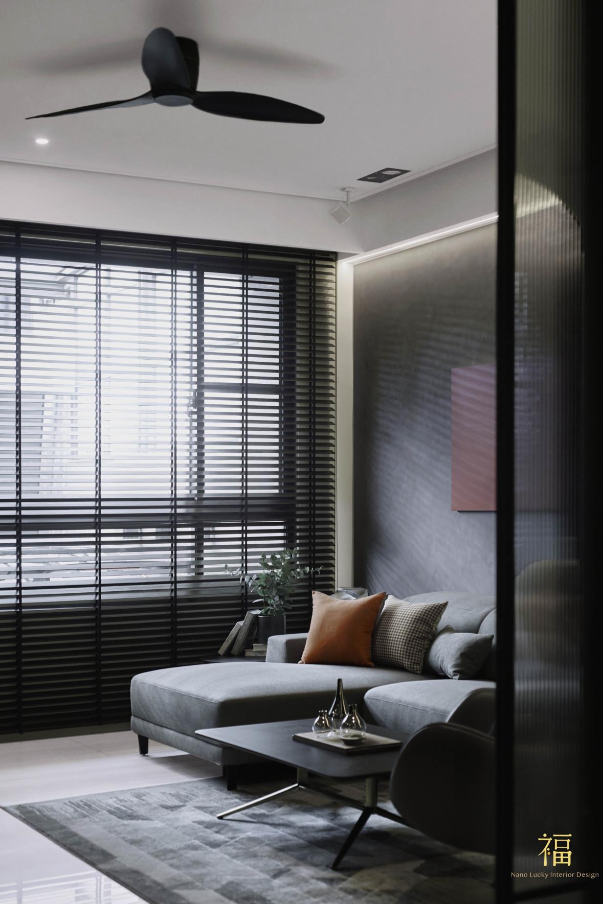 福宅雅居|客廳空間規劃|嘉義住宅空間設計