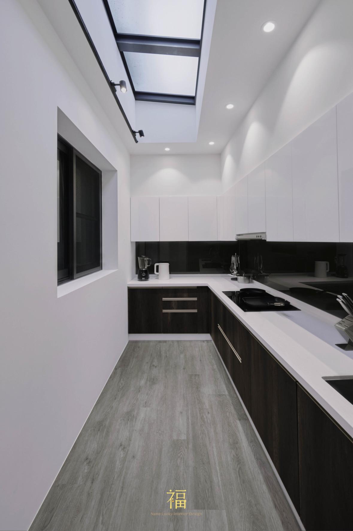 福宅雅居|簡約配搭廚房|嘉義住宅空間設計