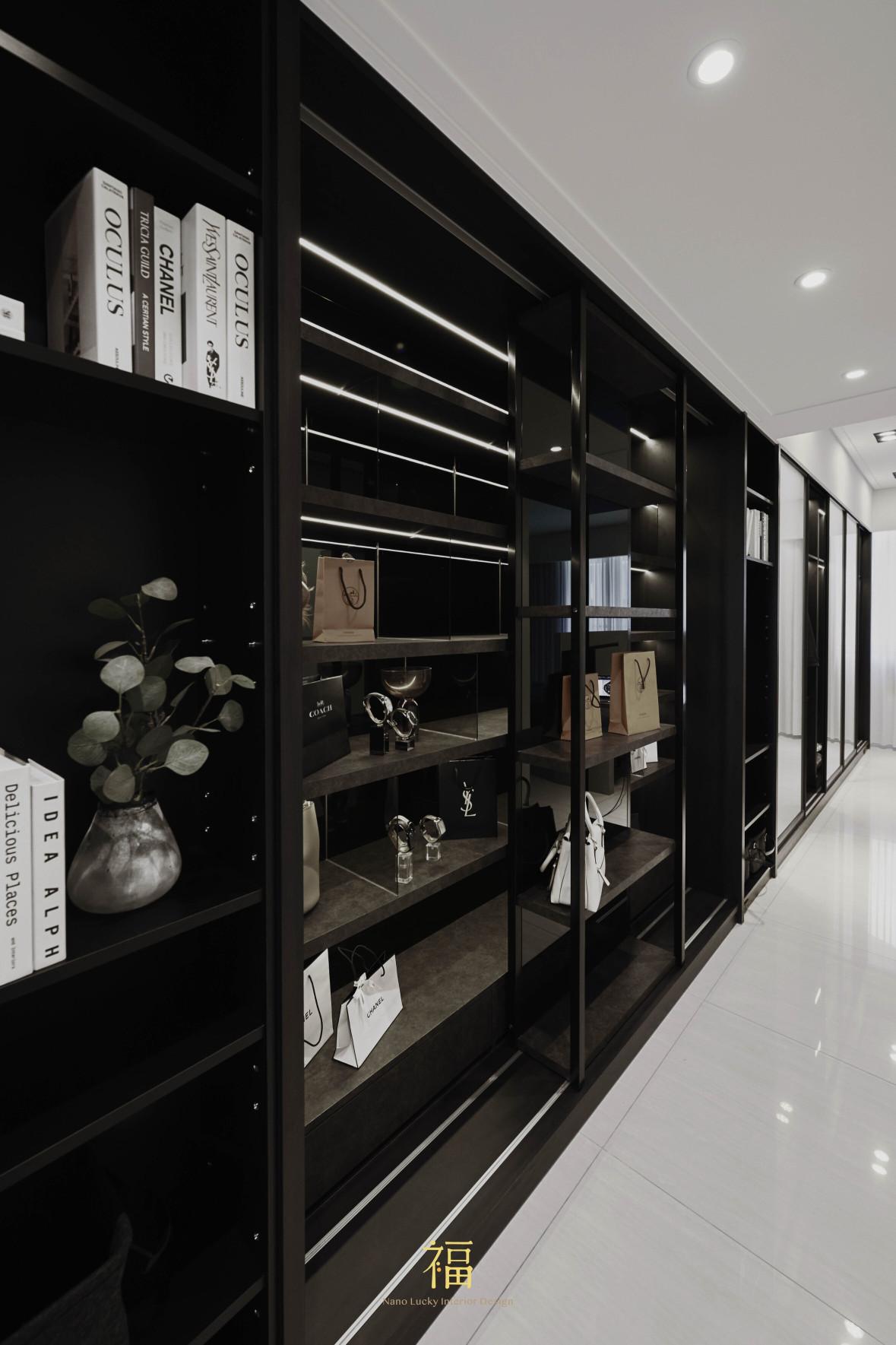 福宅雅居|系統收納櫥櫃|嘉義住宅空間設計