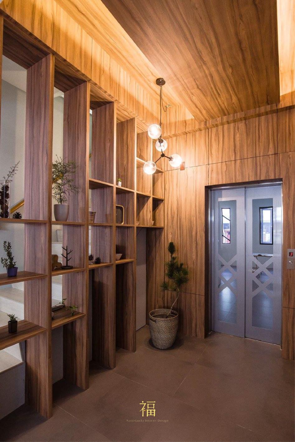 福櫻會館|木材質設計裝潢|嘉義宿舍空間設計