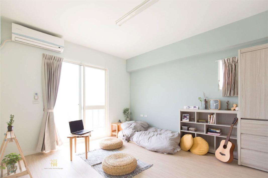 福櫻會館|清新風格房型|嘉義宿舍空間設計