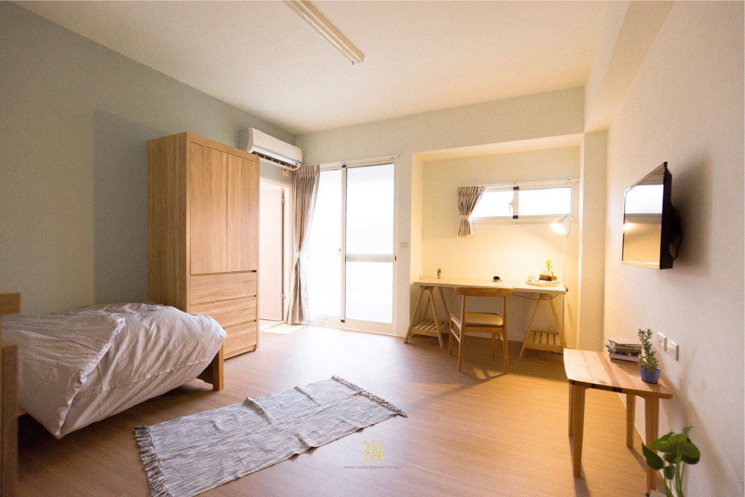 福櫻會館|溫馨學生宿舍|嘉義宿舍空間設計