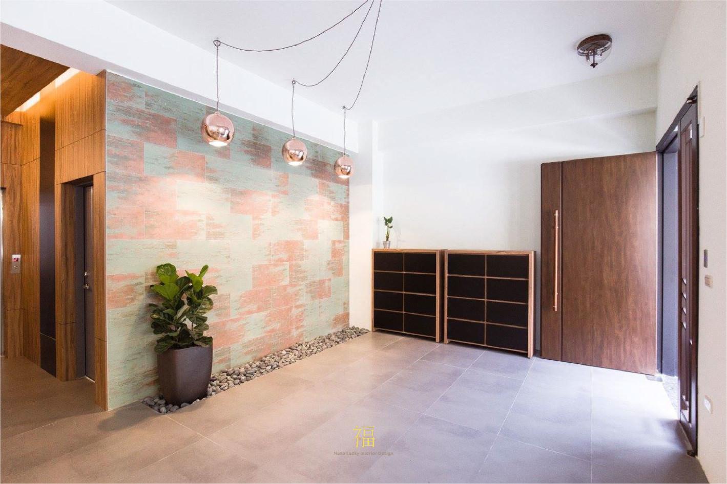 福櫻會館|玄關明亮寬敞|嘉義宿舍空間設計