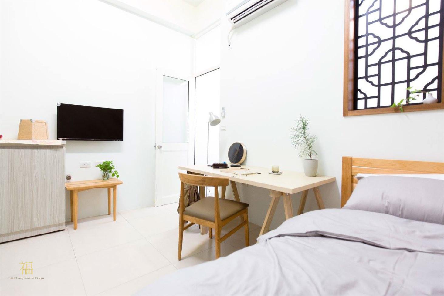 福櫻會館|舒適學生宿舍房型|嘉義宿舍空間設計
