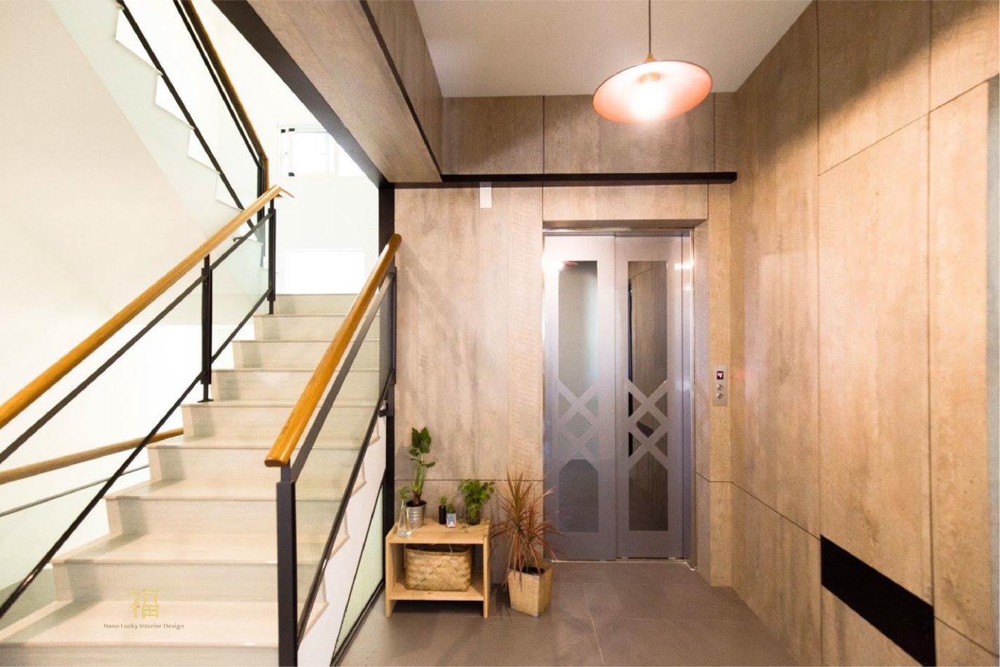 福櫻會館|電梯空間設計|嘉義宿舍空間設計