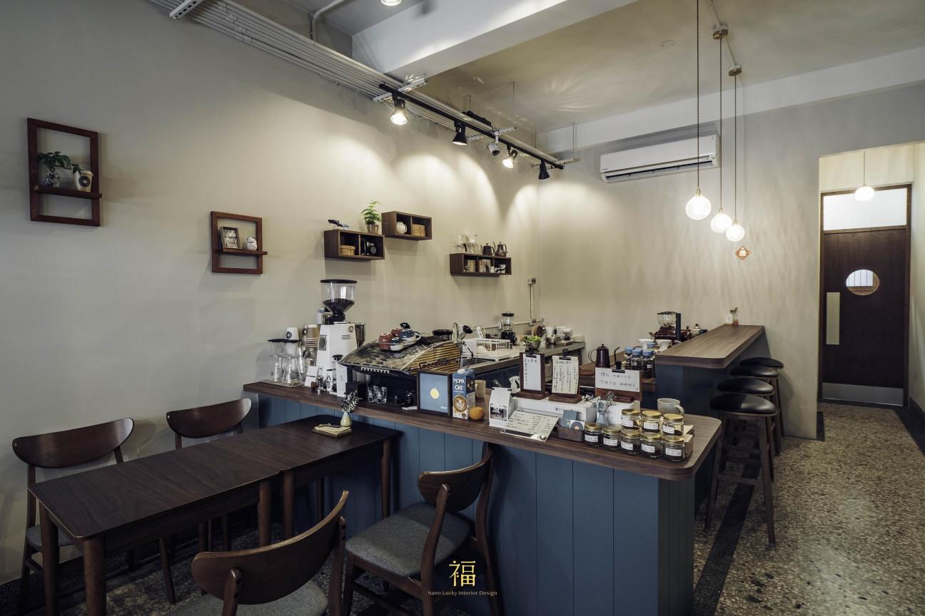 青橙坡上|嘉義咖啡專門店|小福砌商空設計