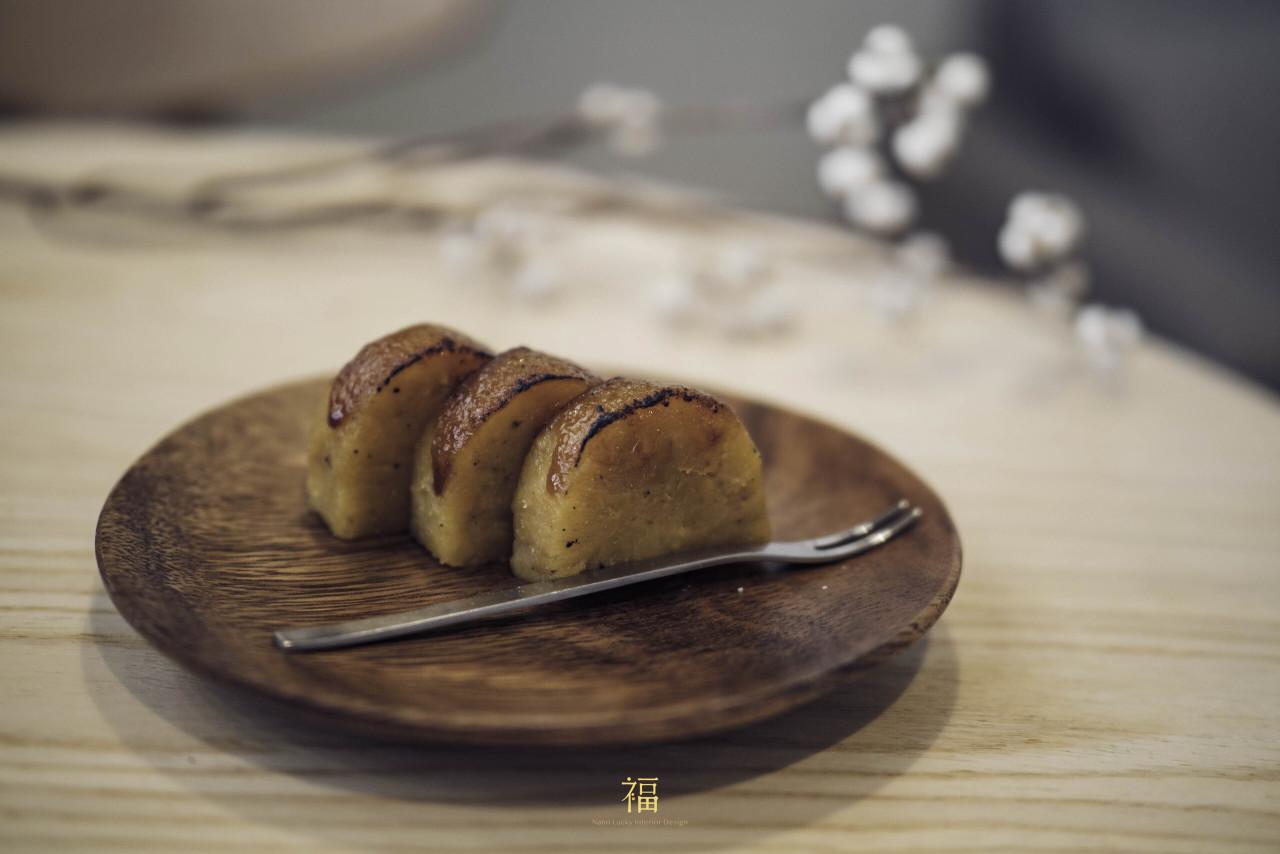 青橙坡上|地瓜羊羹和菓子|小福砌商空設計