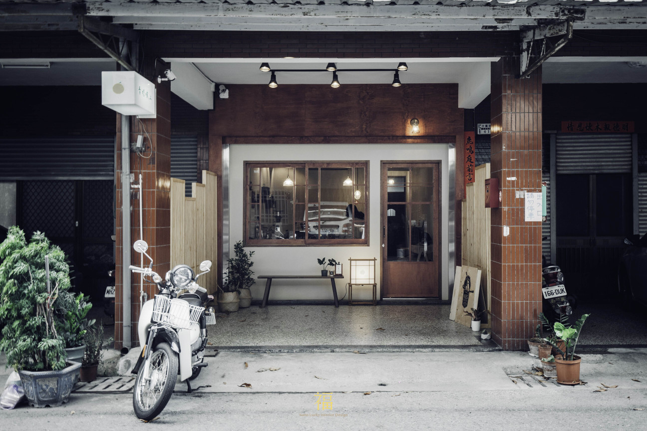 青橙坡上|店面外觀設計|小福砌商空設計