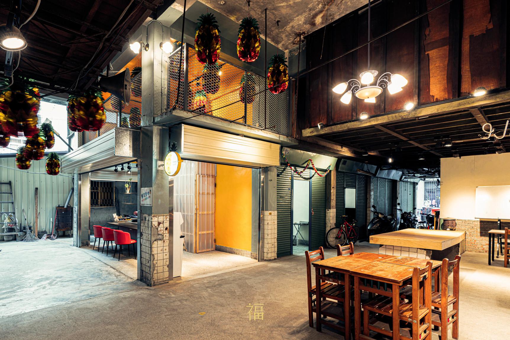 鳳梨會社5點0-小規模多機能服務站|小福砌社區空間規劃設計