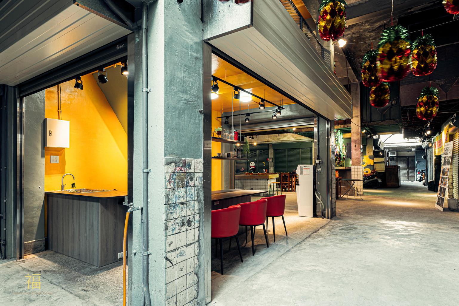 鳳梨會社5點0-社區規劃師駐地環境改造計畫|小福砌社區空間規劃設計