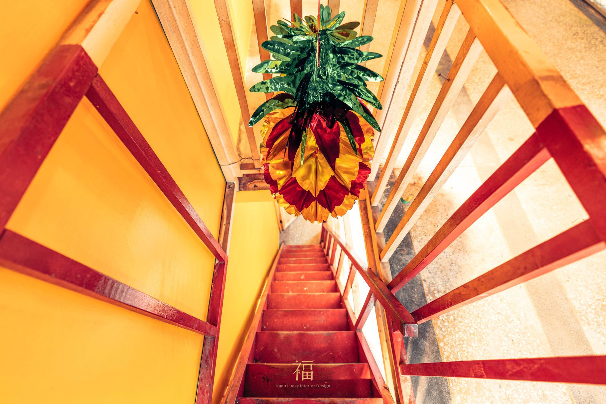 鳳梨會社5點0-結合鳳梨形象的色調設計|小福砌社區空間規劃設計