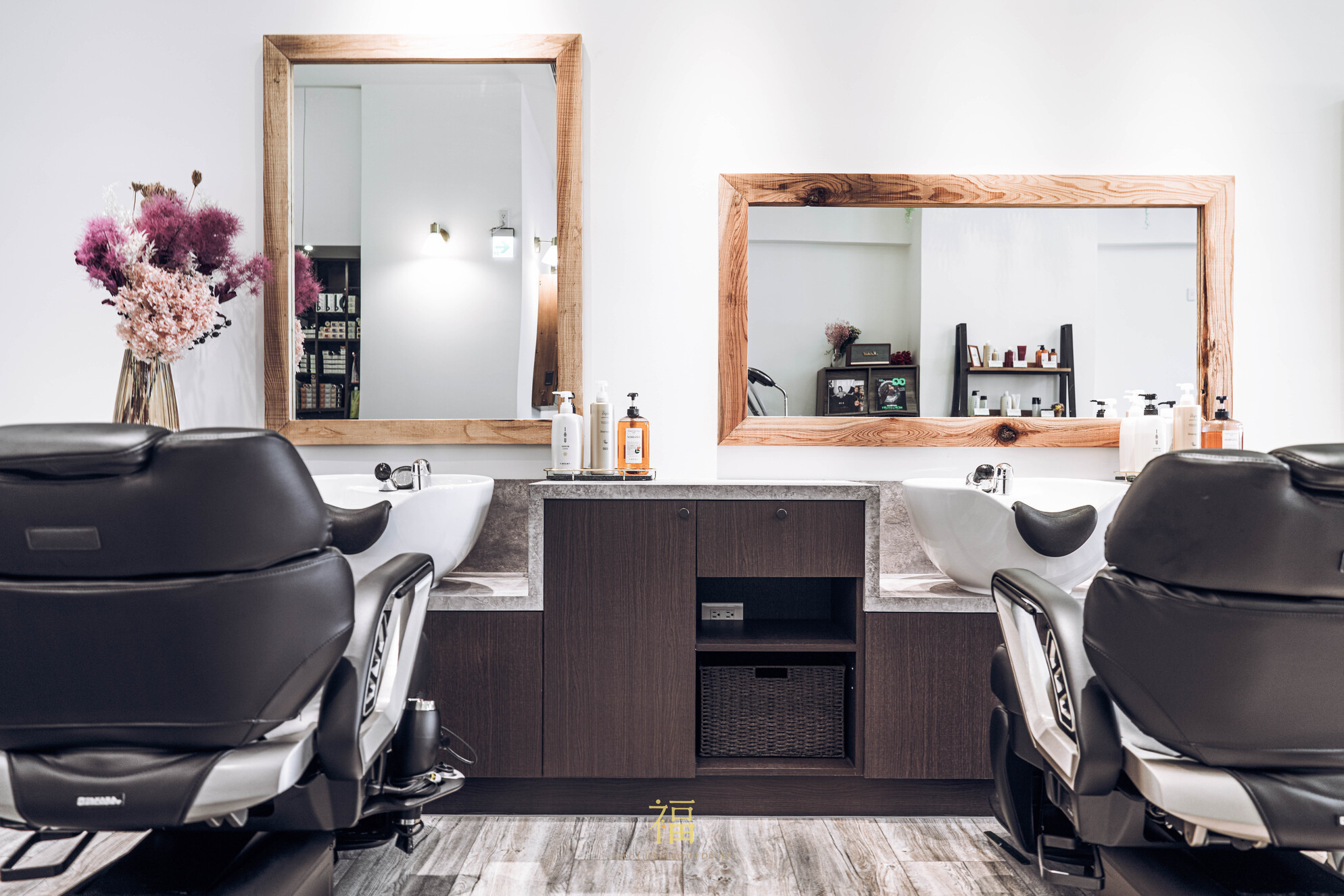 01嘉義太保日系髮廊lislushairsalonstory-美髮洗沖兩用功能設計|小福砌商業美髮沙龍空間設計