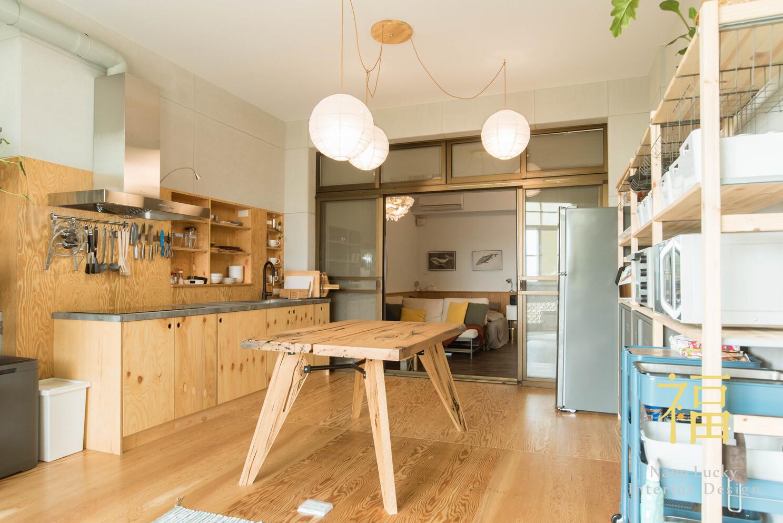 Nanolucky小福砌空間設計-小福砌-透天住宅設計-日系無印風-空間規劃