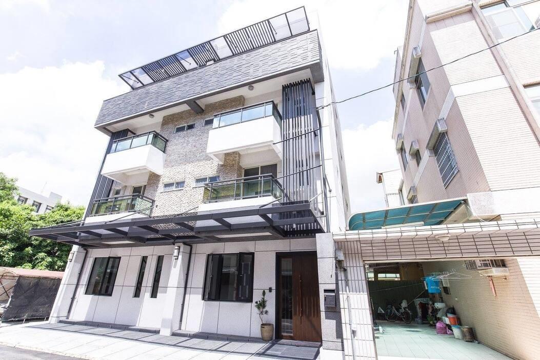 Nanolucky小福砌空間設計-福櫻會館-建築設計-自地自建-學生宿舍