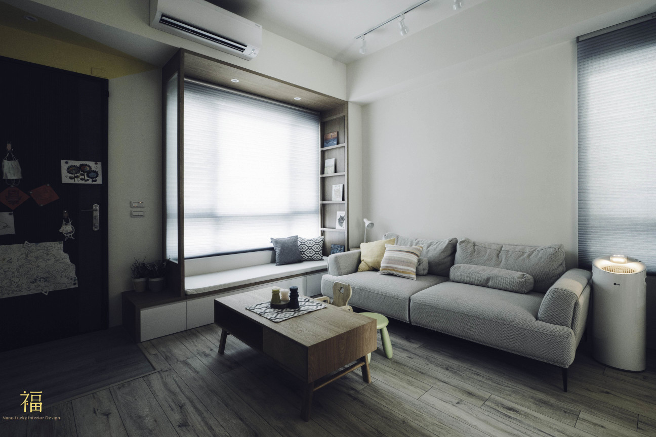 01福砌尚讚|北歐風溫馨客廳設計|嘉義住宅空間設計