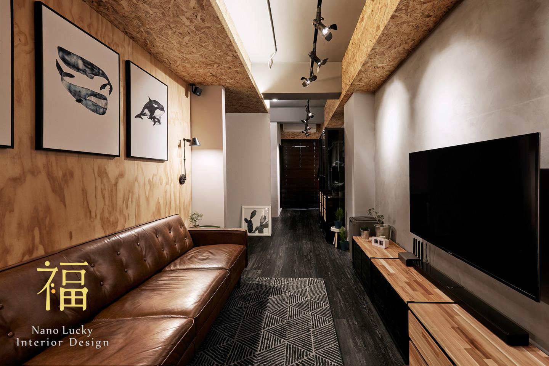 Nanolucky小福砌空間設計-羽耀科技楊宅-透天住宅設計-工業風